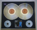 DAVID BOWIE - David Live PLATINUM DOUBLE LP & Double CD
